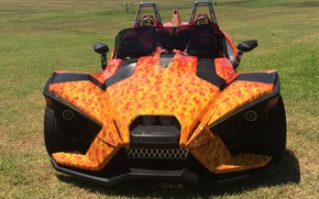 Picture beautiful, comfort, hi-tech, Polaris, Slingshot, technology, sporty, tricycle, 001