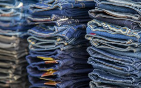 Picture jeans, stock, cloth