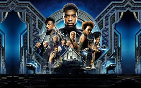 Picture Action, Black, Warrior, The, 2018, Prince, Martin Freeman, Panther, EXCLUSIVE, MARVEL, Walt Disney Pictures, Movie, …