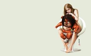 Picture girl, rendering, art, 2D, Heri Irawan