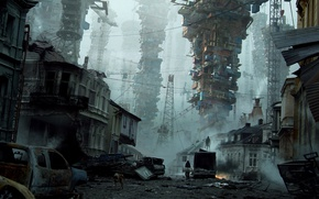 Picture the city, tower, devastation, parkveien, Tamas Medve