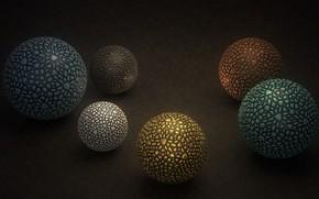 Picture background, balls, balls