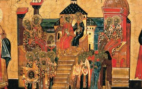 Wallpaper The first Ecumenical Council of Nicaea, Orthodoxy, icon, religion