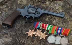Picture medals, 1937, Revolver, Enfield