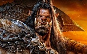 Wallpaper the game, Orc, wow, warcraft, The Art of Warcraft, Wei Wang