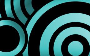 Picture black, blue, circles, 5670