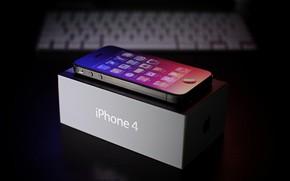 Picture Apple, Classic, California, iPhone 4, Cupertino