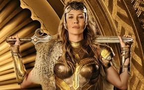 Picture cinema, sword, Wonder Woman, armor, movie, ken, blade, queen, film, warrior, DC Comics, strong, gauntlet, …