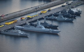 Picture ships, base, Navy
