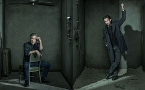 Picture Harrison Ford, Harrison Ford, Ryan Gosling, Ryan Gosling, Blade runner 2049, Blade Runner 2049