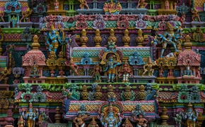 Wallpaper India, temple, architecture