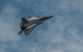 Wallpaper Boeing, Raptor, fighter, Lockheed, F22