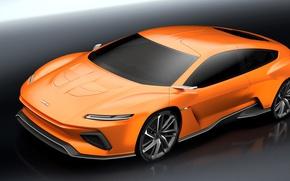 Picture orange, ItalDesign, technology, electric cars, GTZero, Geneva Auto Show 2016, ItalDesign GT Zero, Shuting break, …