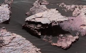 Wallpaper sand, stones, Curiosity, photo, NASA, Mars