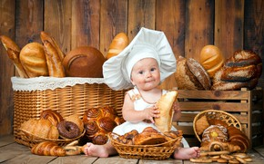 Picture Baby, Cakes, Cook