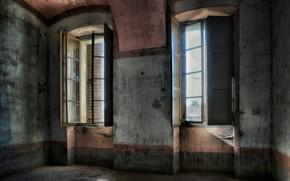 Picture light, room, Windows
