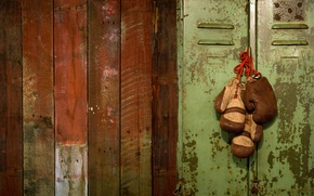 Wallpaper gloves, Boxing, wardrobe