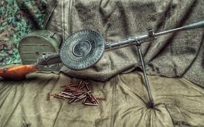 Picture USSR, machine gun, DP-27
