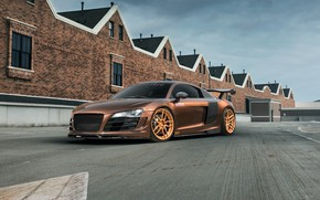 Picture Audi, Supercharged, aka, R8, SKID, MRQ