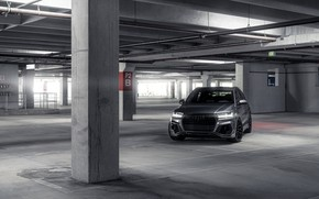 Wallpaper auto, design, Audi, subway, ABT Q7