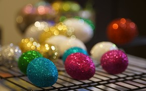 Picture background, colored, eggs, Easter
