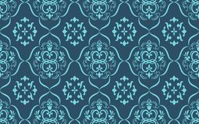 Picture flowers, retro, Wallpaper, pattern, ornament, vintage