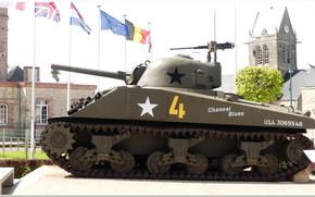 Picture normandy, ww2, sherman tank, ww2 tank
