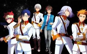 Picture anime, guys, characters, Kakumeiki Valvrave