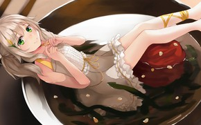 Picture plate, Girl, Anime