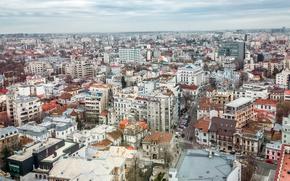 Picture Home, Panorama, Building, Romania, Panorama, Romania, Bucharest, Bucharest