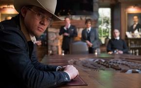 Wallpaper cinema, film, Channing Tatum, Kingsman, Kingsman: The Golden Circle, cowboy, hat, movie