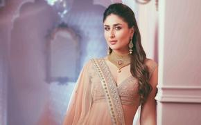 Picture decoration, bollywood, Indian actress, Indian clothing, in fact kapoor, Kareena Kapoor