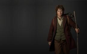 Picture rendering, art, fantasy, the hobbit, character, illustration, John. R. R. Tolkien, Bilbo Baggins, Yichen Gu, ...