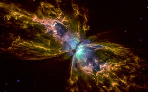 Picture Nebula, NGC 6302, Butterfly