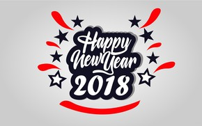 Picture background, New Year, 2018, New Year, Happy