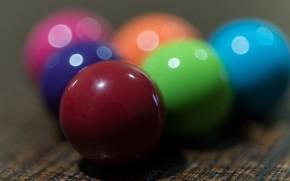 Picture macro, balls, colorful