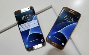 Picture logo, Galaxy, cloud, Samsung, smartphone, technology, cell phone, kumo, high tech, S7, Samsung Galaxy S7, …