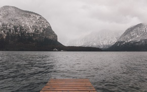 Picture misty, beach, river, sky, trees, sea, ocean, landscape, nature, water, seascape, scenic, mountain, rocks, island, …