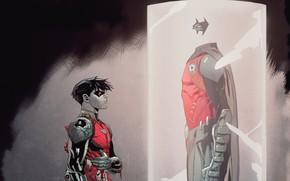 Picture Blood, Costume, Hero, Mask, Comic, Cloak, Superhero, Hero, Robin, DC Comics, Jason Todd, Cape, Mask, …