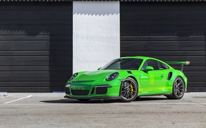 Picture Porsche, Green, GT3RS, 991