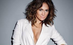 Wallpaper celebrity, singer, Jennifer Lopez, smile, actress