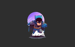 Wallpaper moon, Batman, man, bat, hero, mask, DC Comics, Bruce Wayne, uniform, yuusha, seifuku, Gotham, Gotham ...