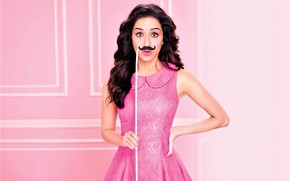 Picture dark, girl, dress, photography, style, pink, model, beautifull, indian, actress, celebrity, mustache, bollywood, Shraddha Kapoor, …