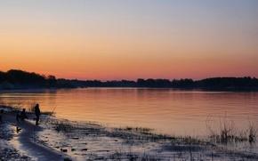 Picture Dawn, Volga, Cheboksary