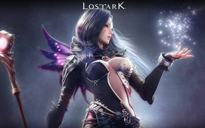 Wallpaper background, Lost Ark, girl, the game