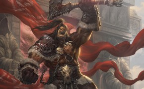 Picture art, Nan Xiang, orc. fantasy, The final will be for the king
