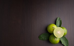 Picture leaves, Lime, citrus