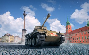 Wallpaper World of Tanks, Pudel, Poodle, WoT, World Of Tanks, Wargaming Net
