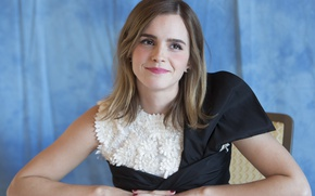 Picture Emma Watson, Emma Watson, Beauty and the Beast, at the press conference of the film, …