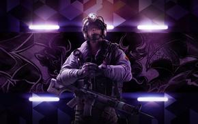 Picture Weapons, Ubisoft, Special forces, Equipment, Ubisoft Entertainment, Helmet, Ubisoft Montreal, The vest, Tom Clancy's Rainbow …